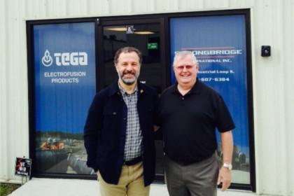 TEGA відкрила великий склад в Америці, місто Джексонвіллі-Флорида